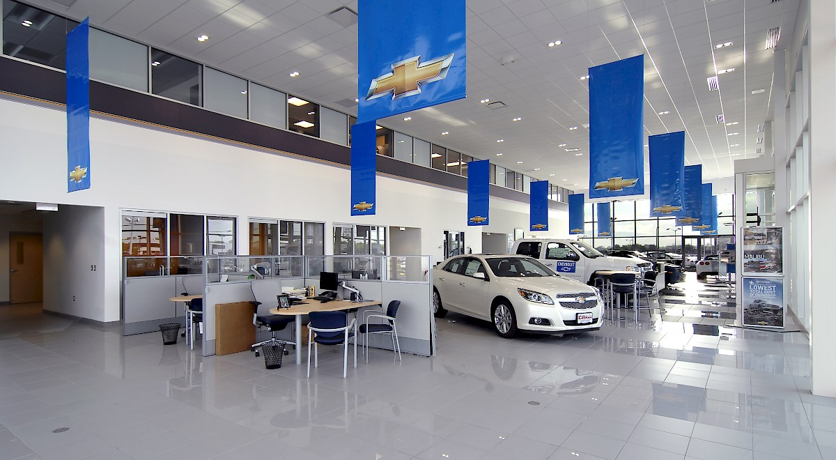 Bobby Layman Chevrolet auto dealership construction finished picture 8