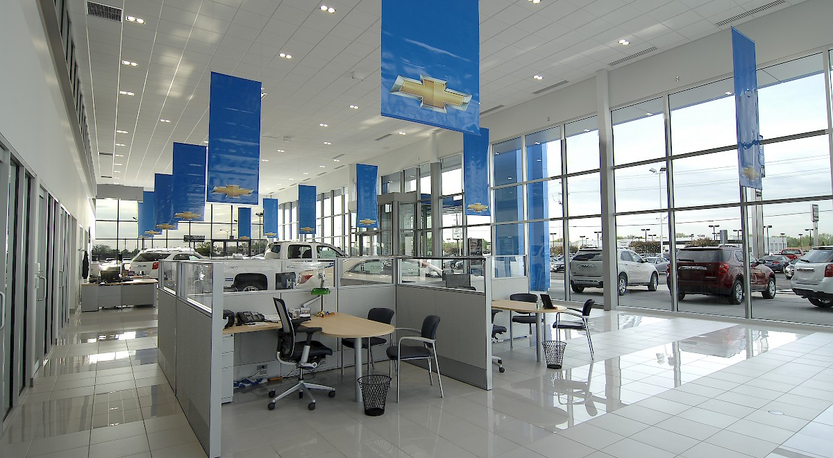 Bobby Layman Chevrolet auto dealership construction finished picture 9
