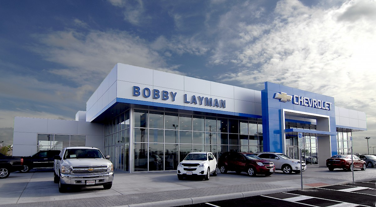 Bobby Layman Chevrolet auto dealership construction finished picture 3