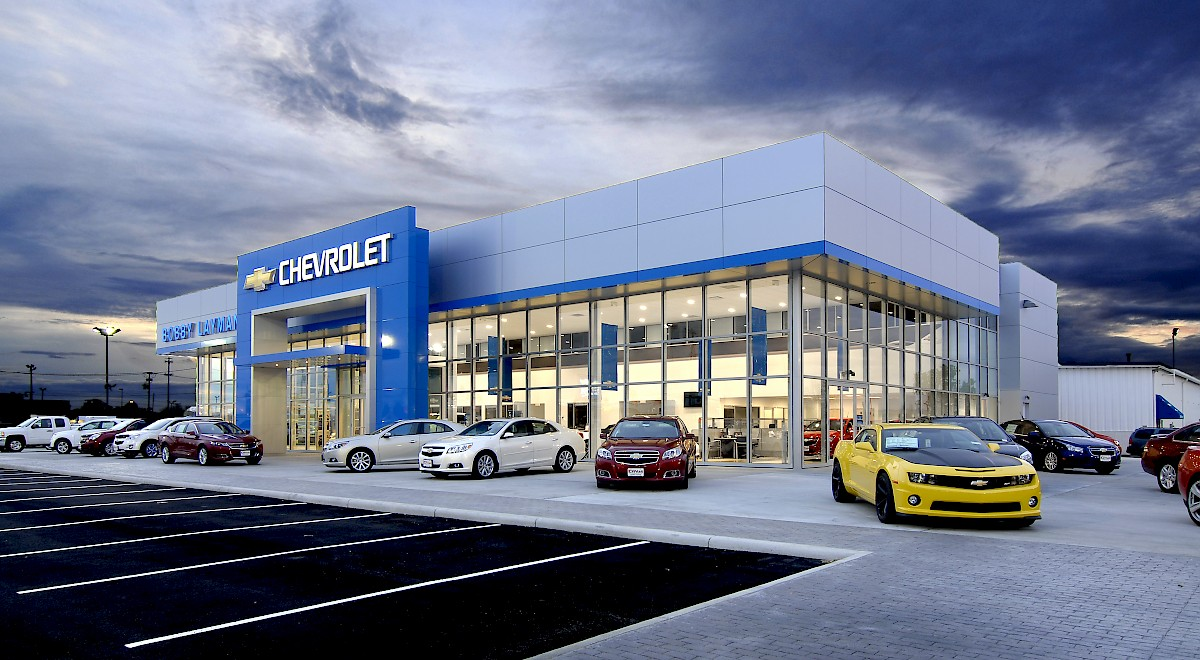 Bobby Layman Chevrolet auto dealership construction finished picture 2