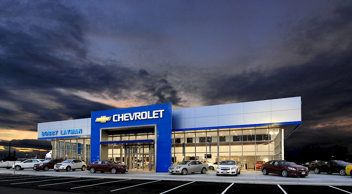 Bobby Layman Chevrolet auto dealership construction finished picture 15