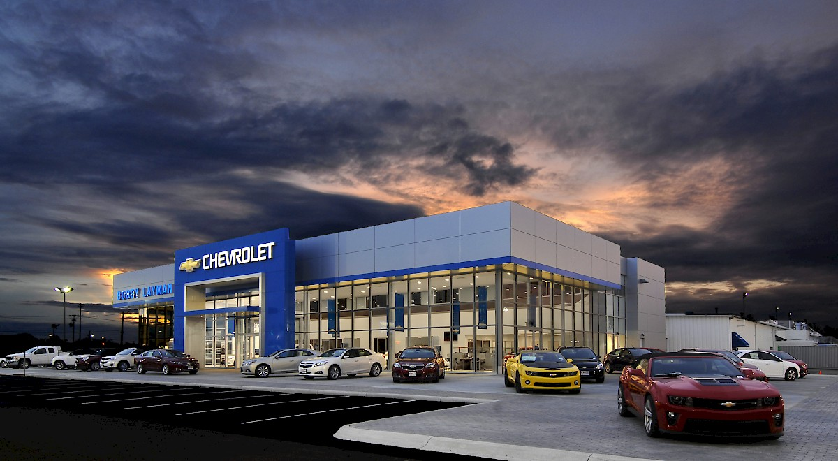 Bobby Layman Chevrolet auto dealership construction finished picture 16
