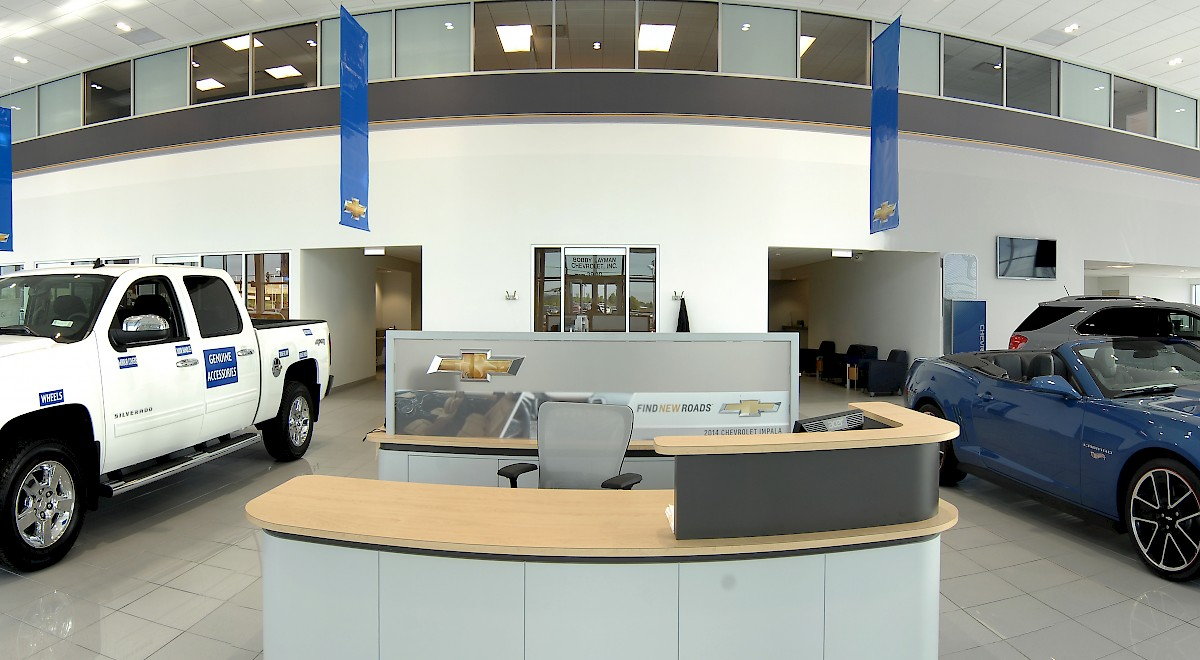 Bobby Layman Chevrolet auto dealership construction finished picture 17