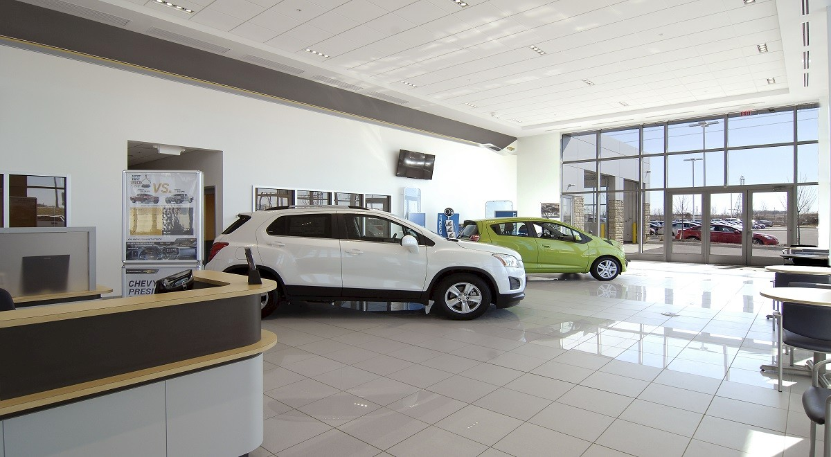 Byers Chevrolet auto dealership construction finished picture 10