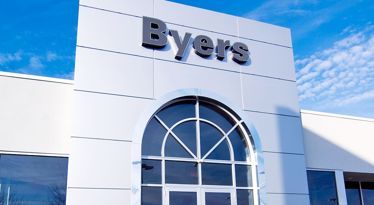 Byers Chrysler Jeep Dodge auto dealership construction finished picture 1