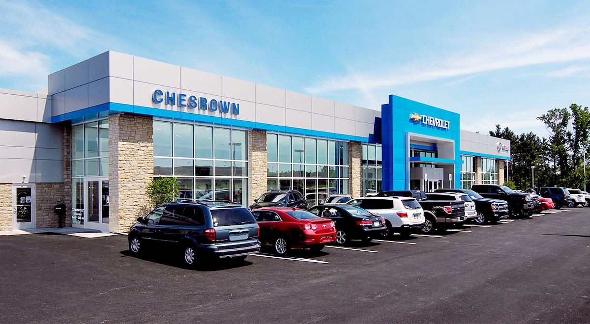 Chesrown Chevrolet Buick GMC auto dealership construction finished picture 1