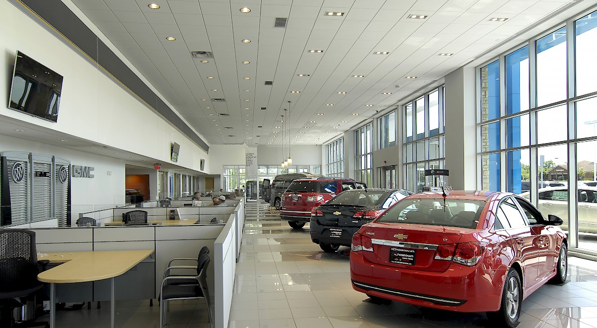 Chesrown Chevrolet Buick GMC auto dealership construction finished picture 7