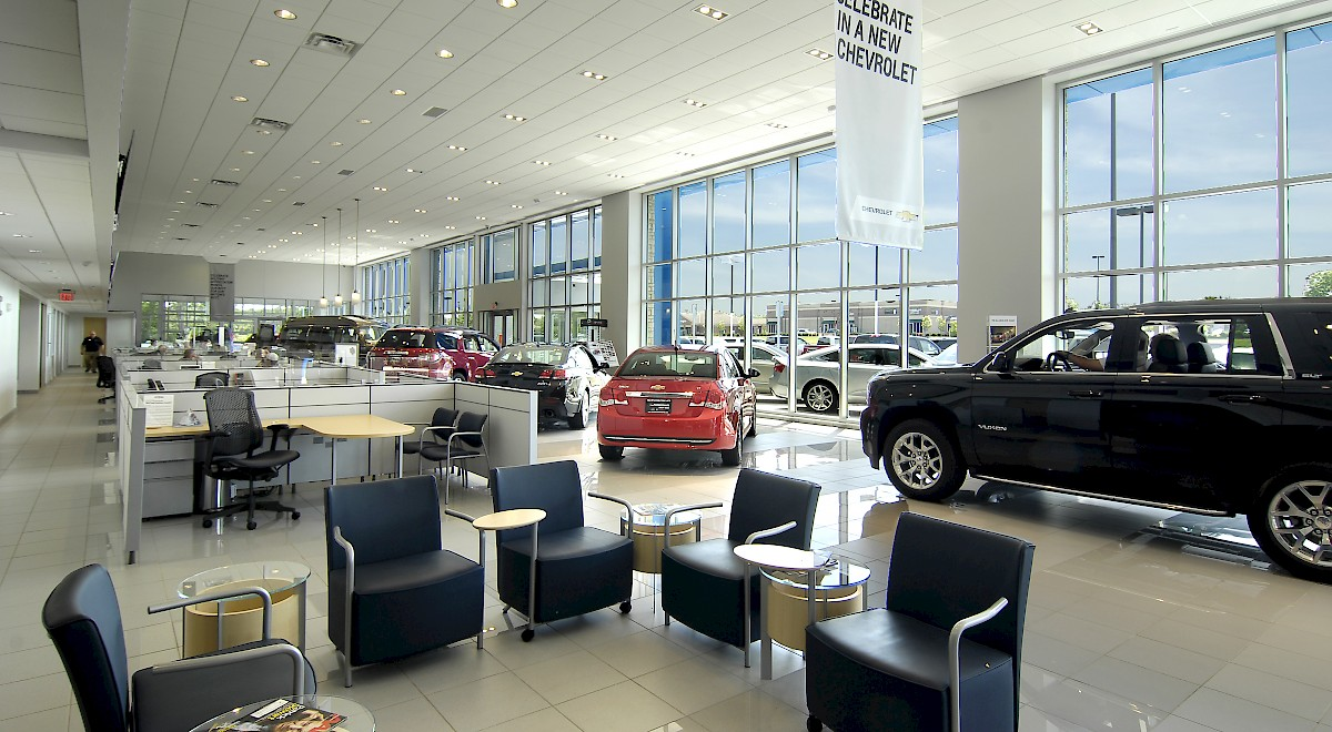 Chesrown Chevrolet Buick GMC auto dealership construction finished picture 8