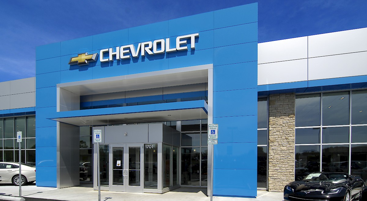 Chesrown Chevrolet Buick GMC auto dealership construction finished picture 3