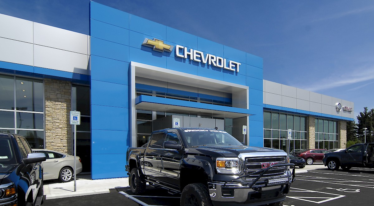Chesrown Chevrolet Buick GMC auto dealership construction finished picture 4