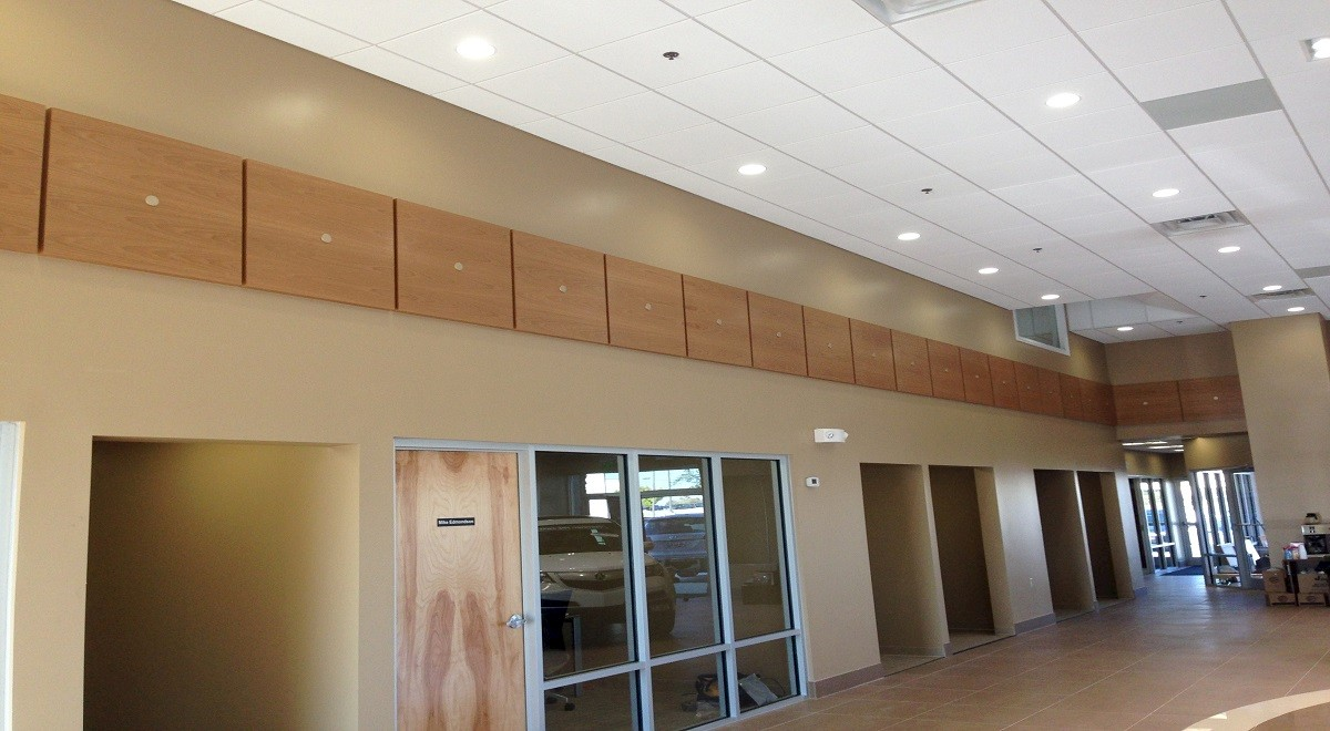 Courtesy Acura auto dealership construction finished picture 2