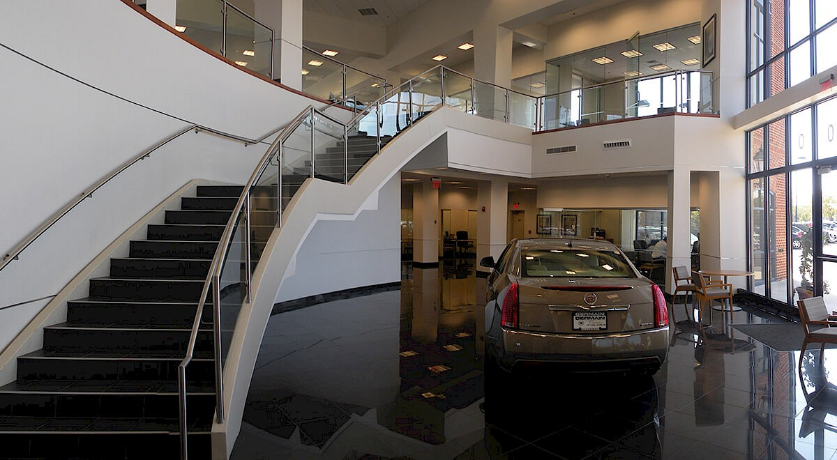 Germain Cadillac of Easton auto dealership construction finished picture 10