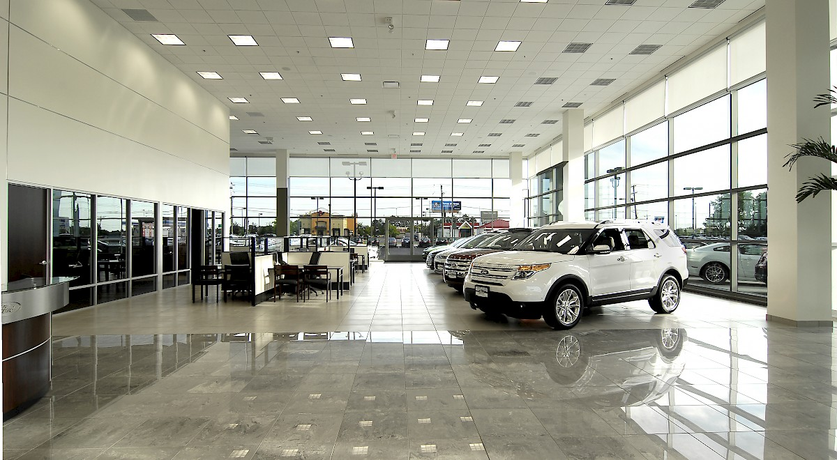 Germain Ford auto dealership construction finished picture 17