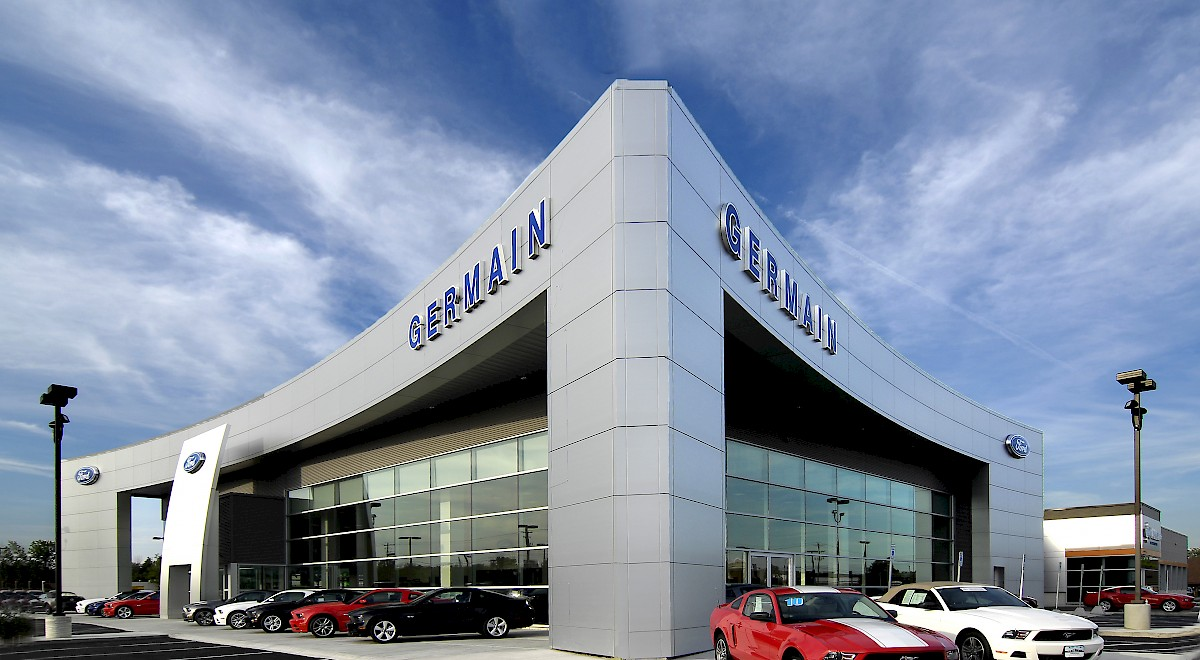 Germain Ford auto dealership construction finished picture 2