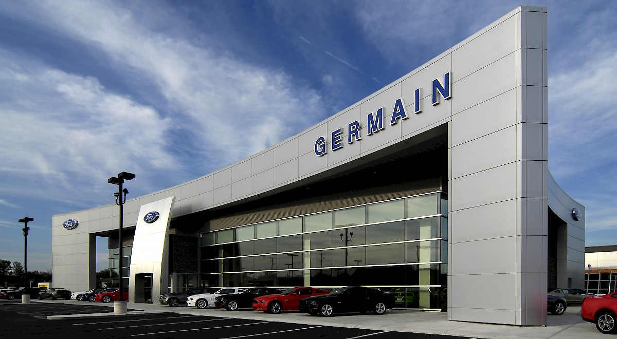 Germain Ford auto dealership construction finished picture 3