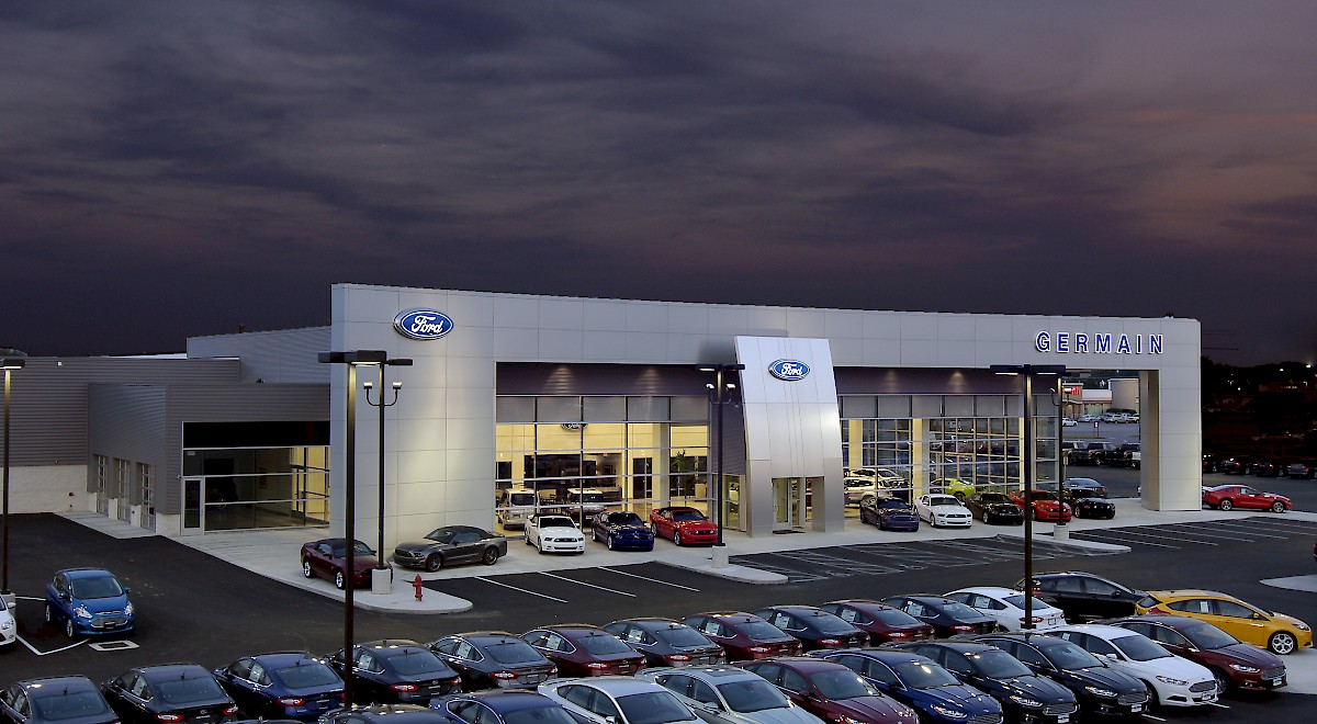 Germain Ford auto dealership construction finished picture 16