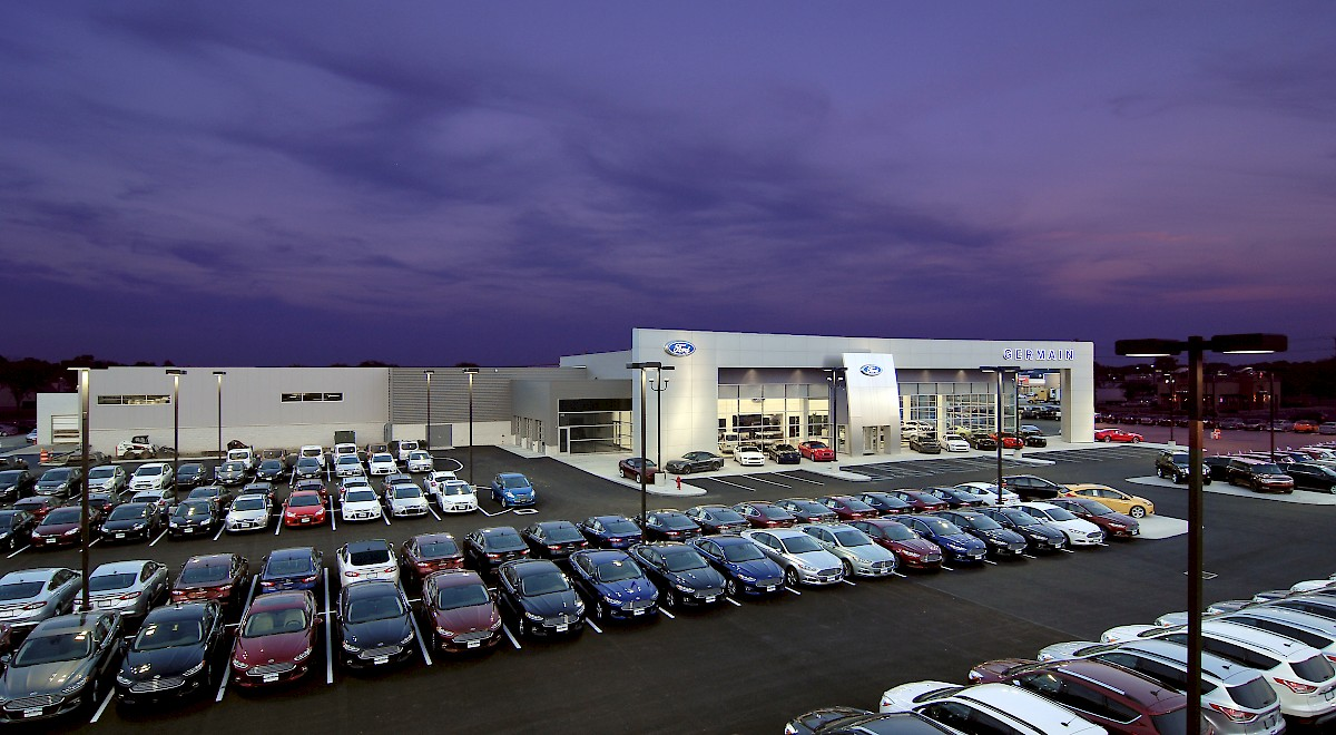 Germain Ford auto dealership construction finished picture 18