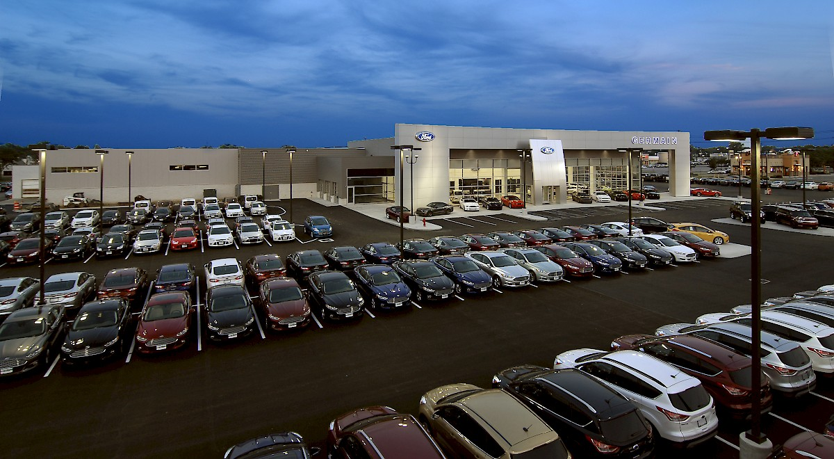 Germain Ford auto dealership construction finished picture 20
