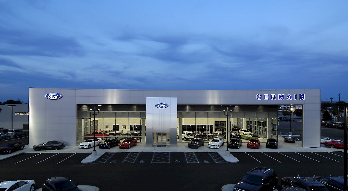 Germain Ford auto dealership construction finished picture 19