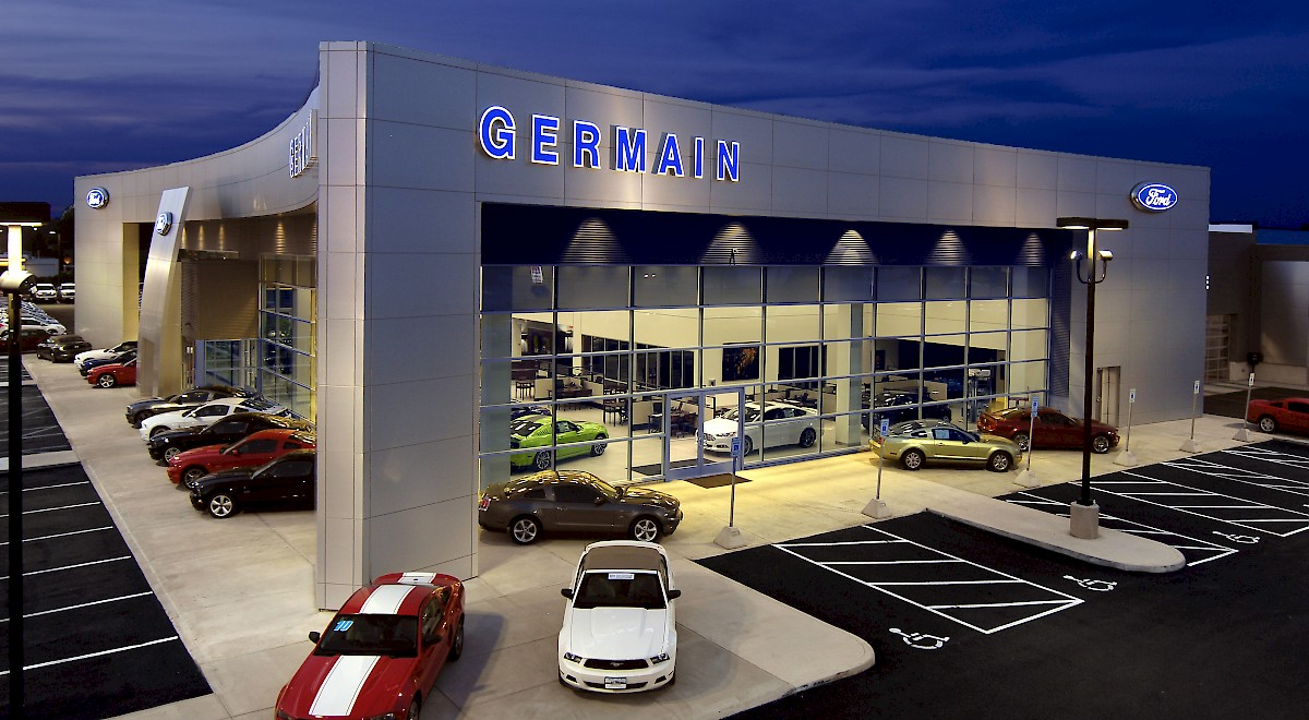 Germain Ford auto dealership construction finished picture 21