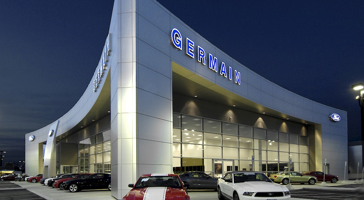 Germain Ford auto dealership construction finished picture 22