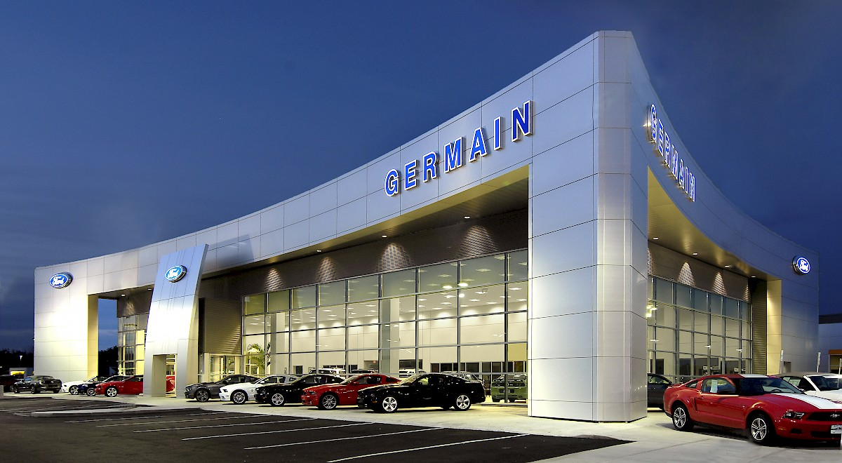 Germain Ford auto dealership construction finished picture 25