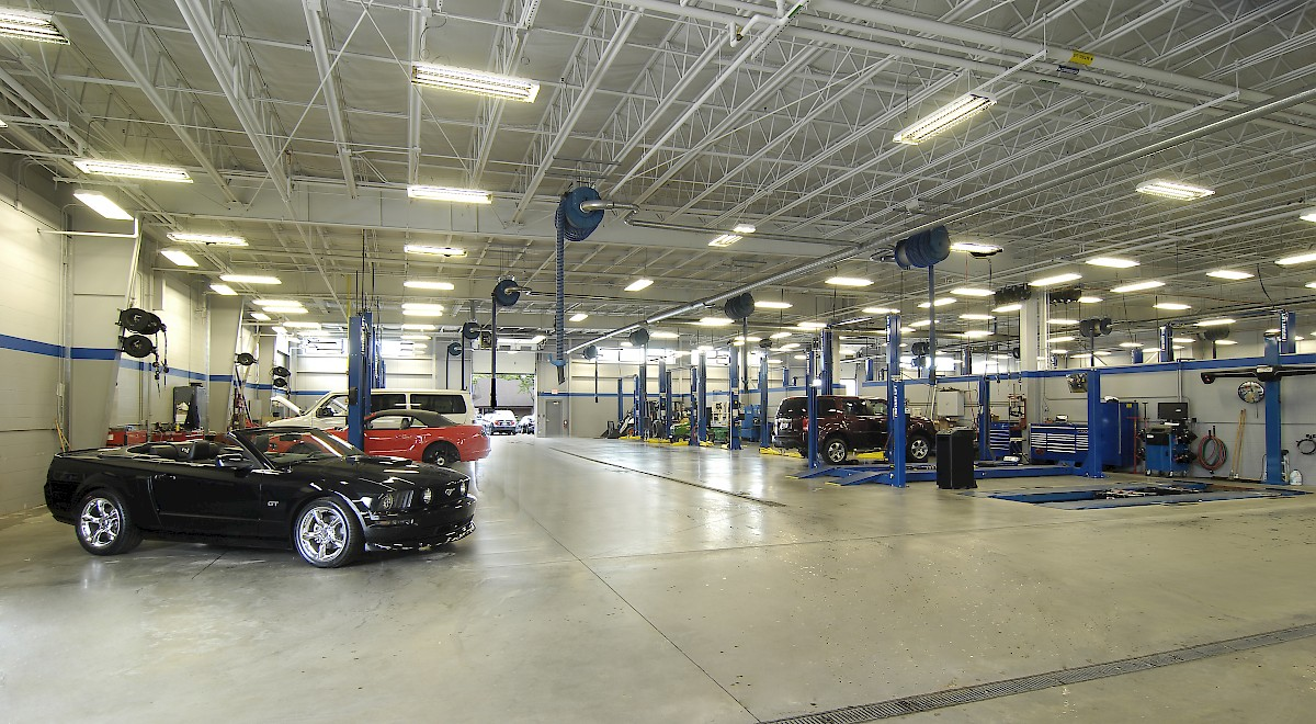 Germain Ford auto dealership construction finished picture 24