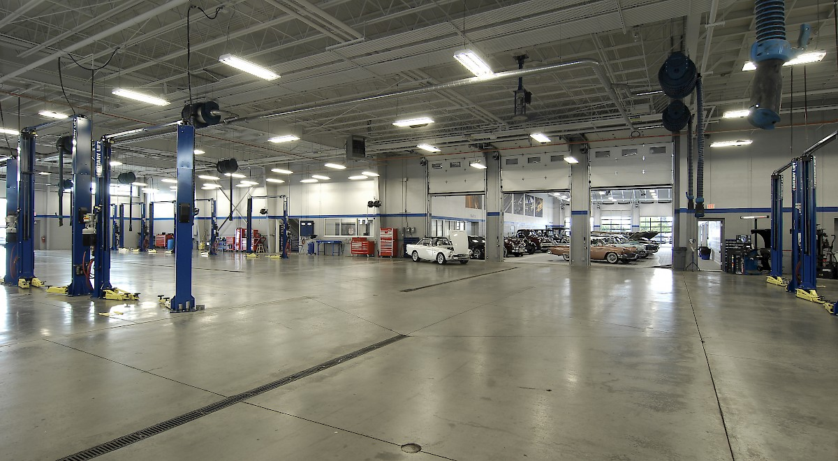 Germain Ford auto dealership construction finished picture 13