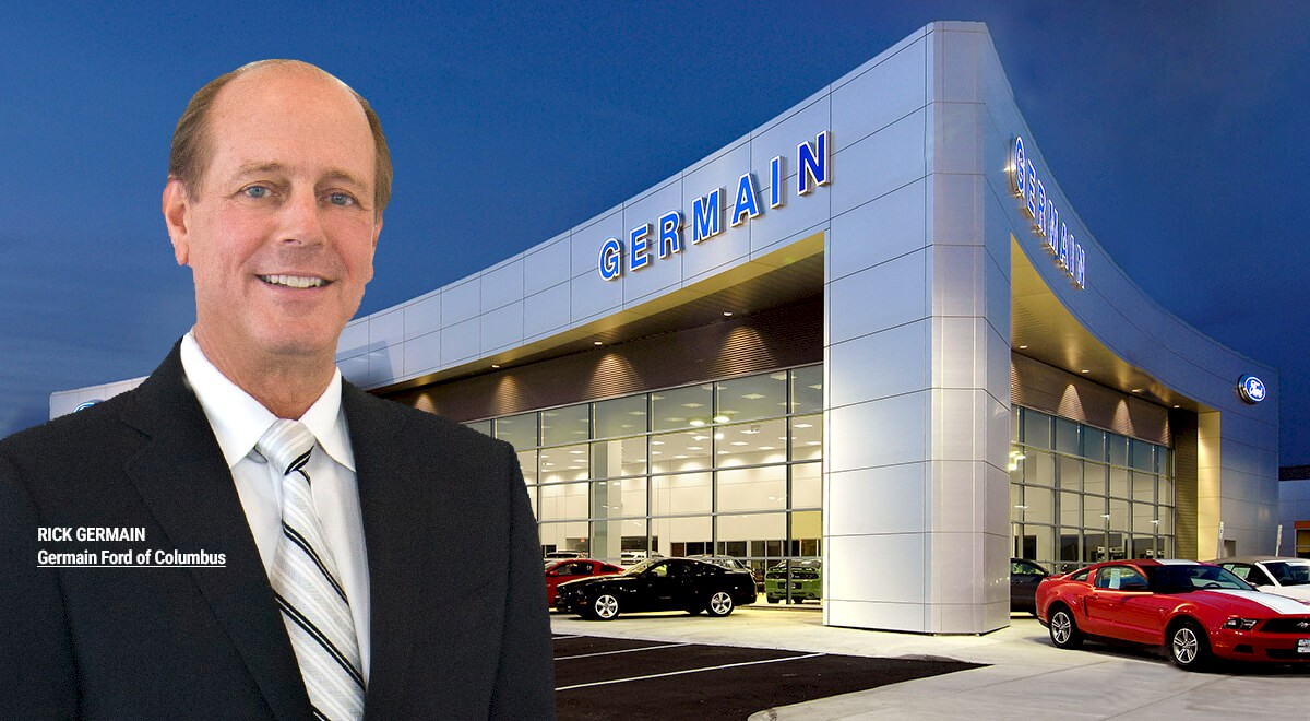 Germain Ford auto dealership construction finished picture 14