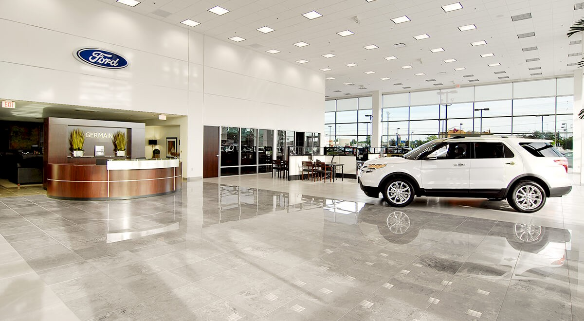 Germain Ford auto dealership construction finished picture 6