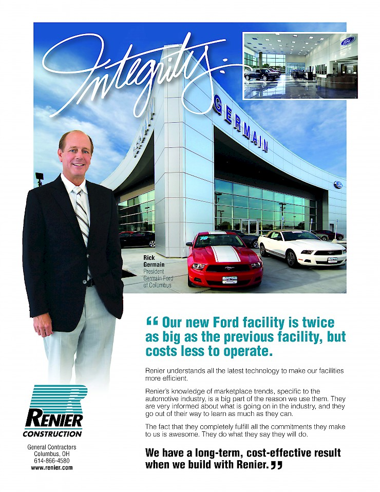 Our New Ford Facility Is Twice As The Previous But Costs Less To Operate