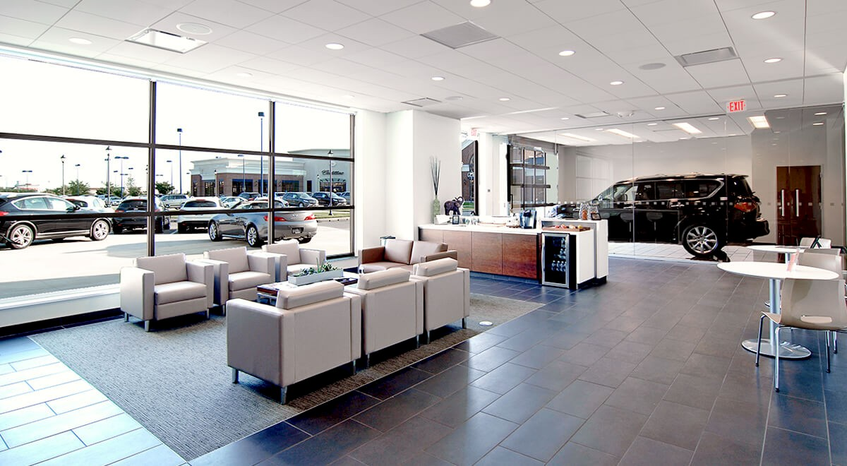 Germain Infiniti of Easton auto dealership construction finished picture 4
