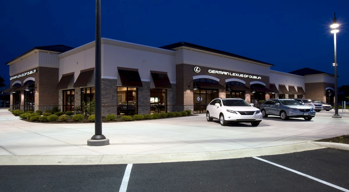 Germain Lexus Dublin New Car Sales auto dealership construction finished picture 1