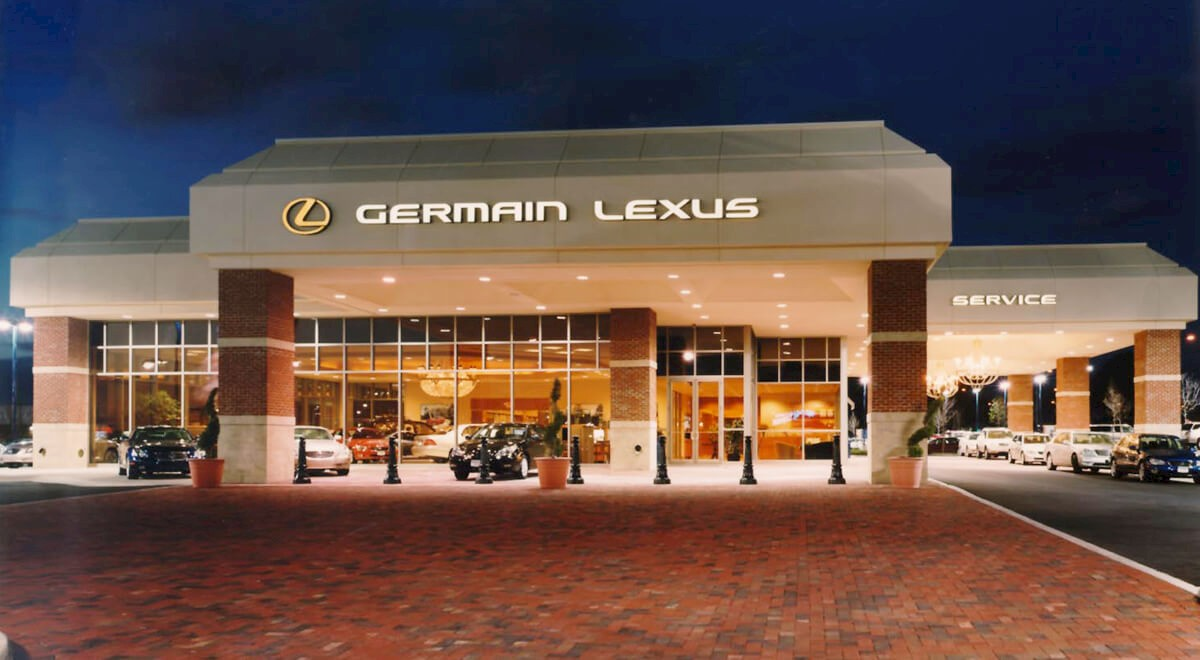 Germain Lexus of Easton auto dealership construction finished picture 1