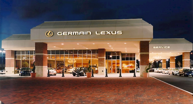 Germain Lexus Dublin Service Center Renier Construction
