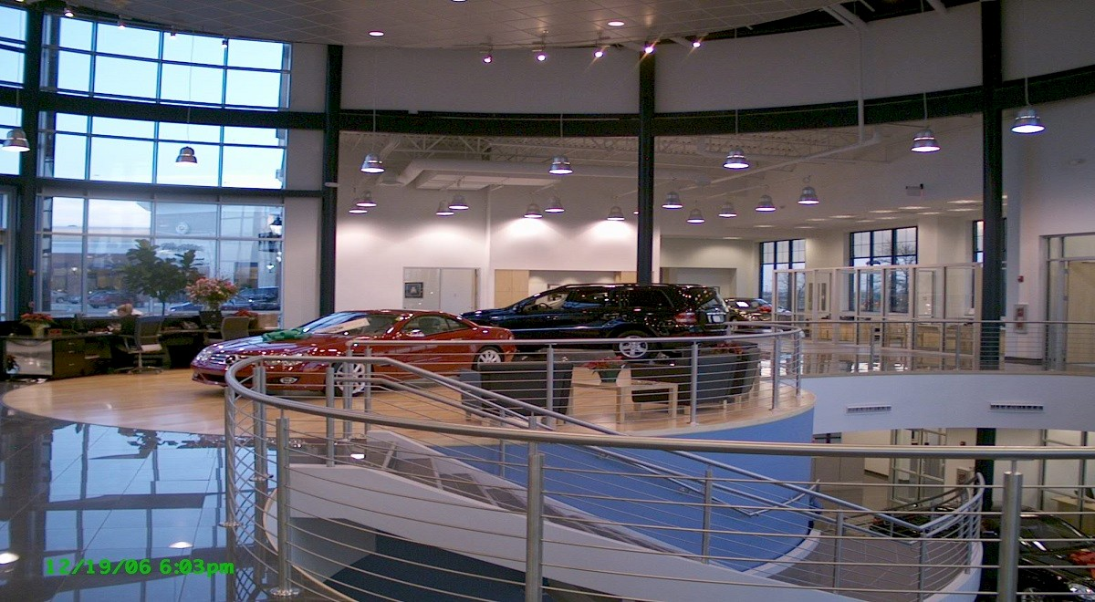 Germain Mercedes auto dealership construction finished picture 9