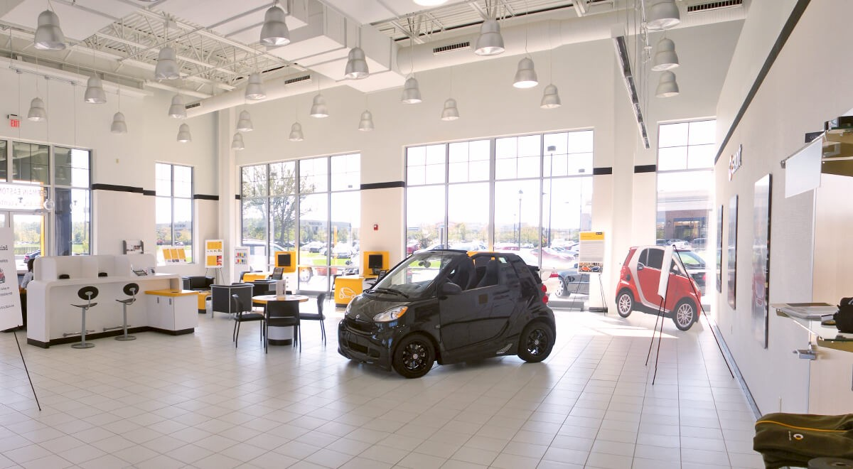 Germain Smart Car auto dealership construction finished picture 2