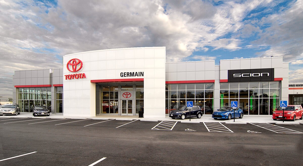 Germain Toyota of Columbus auto dealership construction finished picture 1