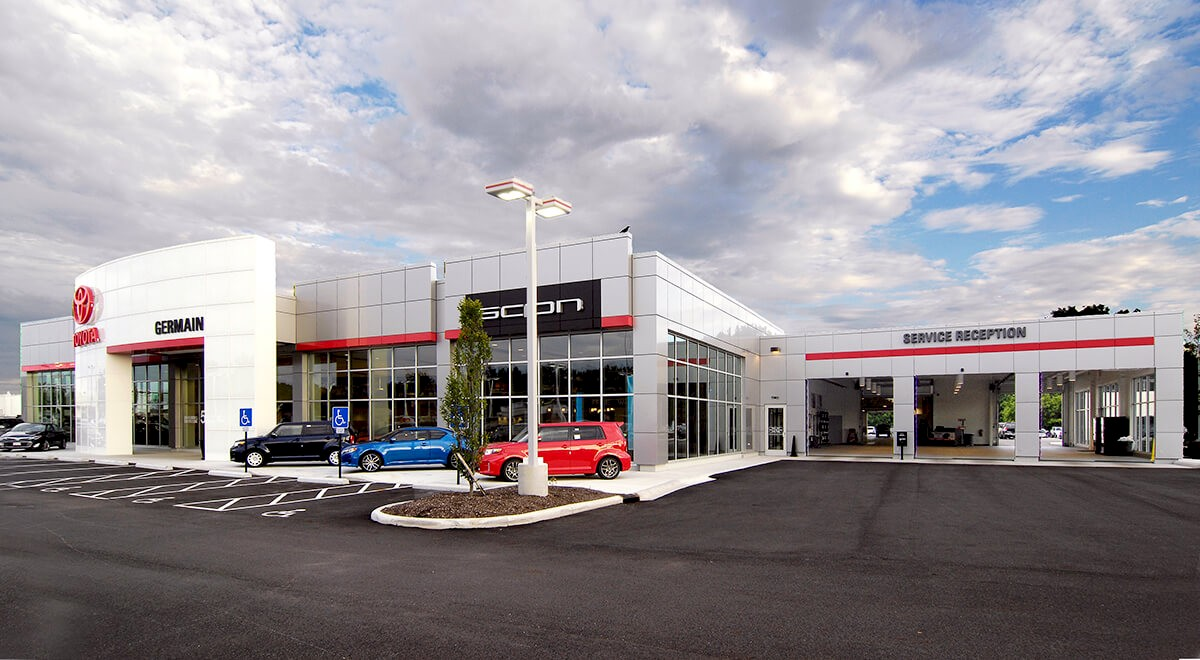 Germain Toyota of Columbus auto dealership construction finished picture 4