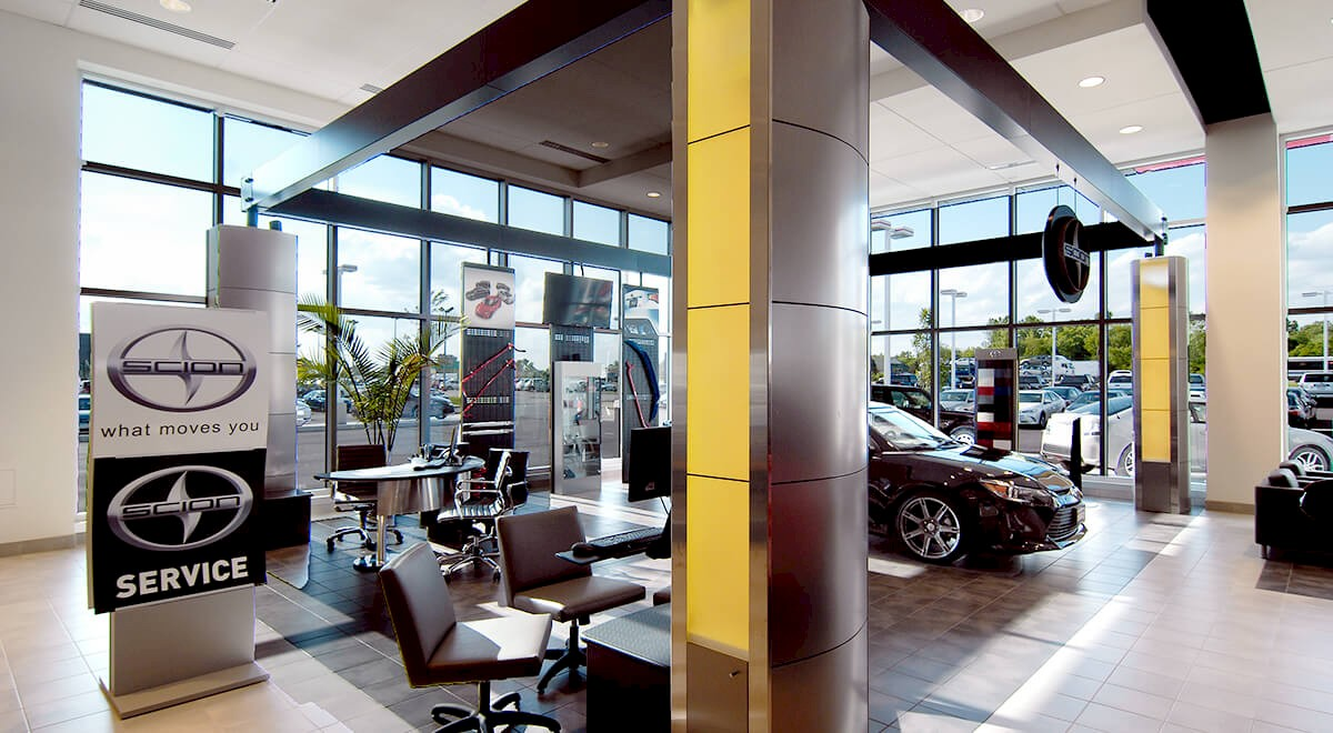 Germain Toyota Of Columbus Auto Dealership Construction Finished Picture 6