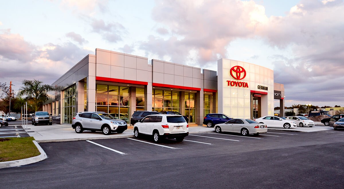 Germain Toyota of Sarasota auto dealership construction finished picture 2