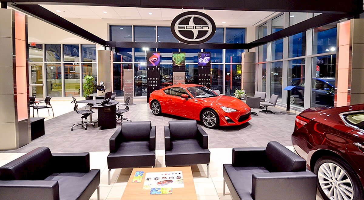 Germain Toyota of Sarasota auto dealership construction finished picture 3