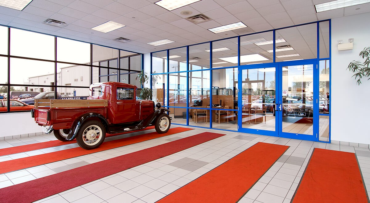 Jim Keim Ford auto dealership construction finished picture 2