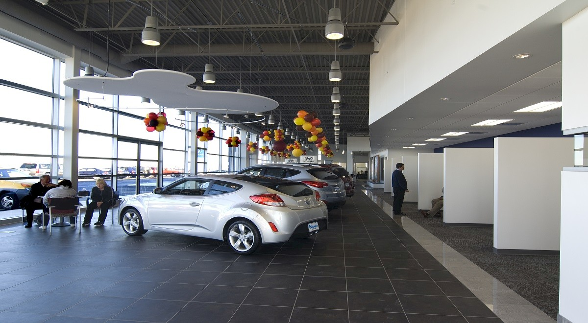 Joseph Airport Hyundai auto dealership construction finished picture 2
