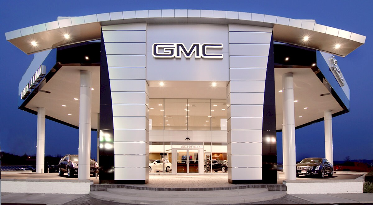 Layman Cadillac GMC auto dealership construction finished picture 1
