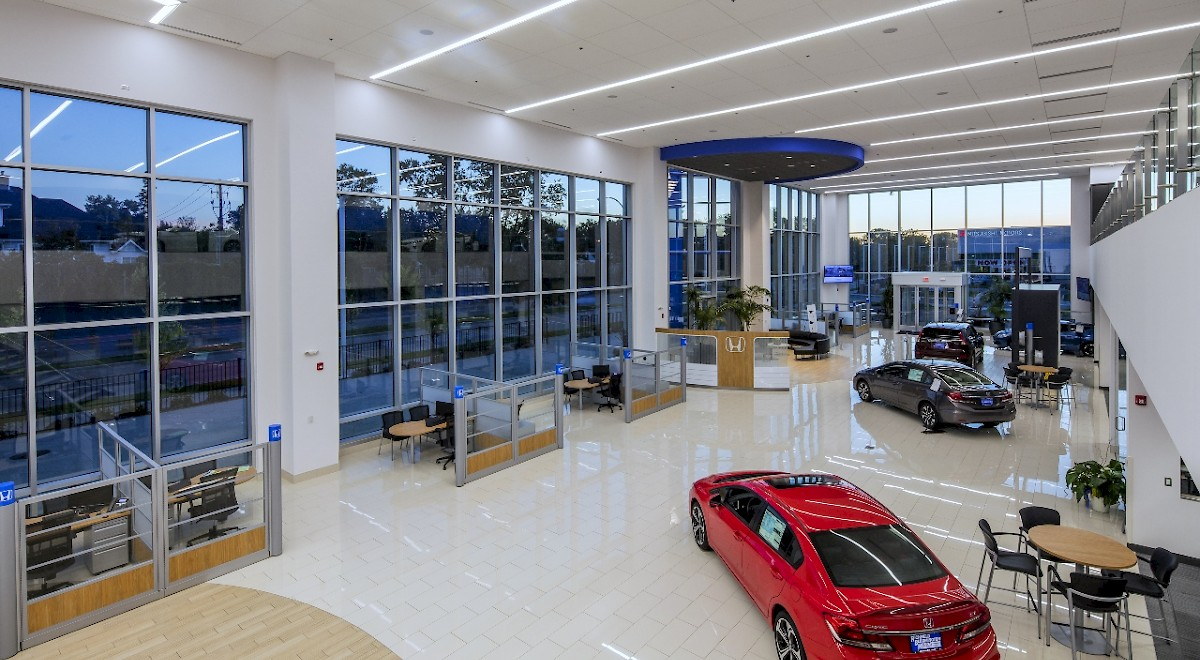 Richfield Bloomington Honda auto dealership construction finished picture 20