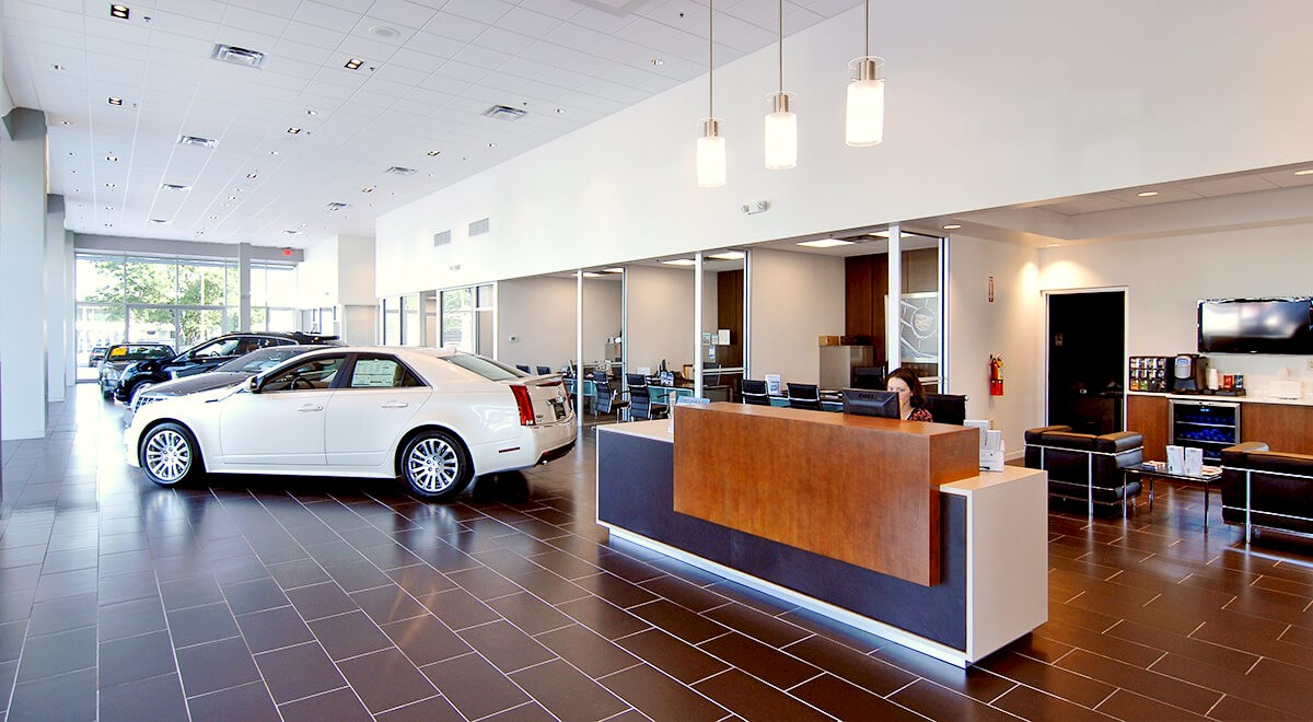 Swope Cadillac auto dealership construction finished picture 1