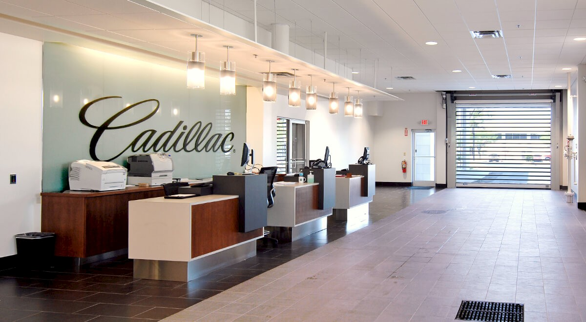 Swope Cadillac auto dealership construction finished picture 4