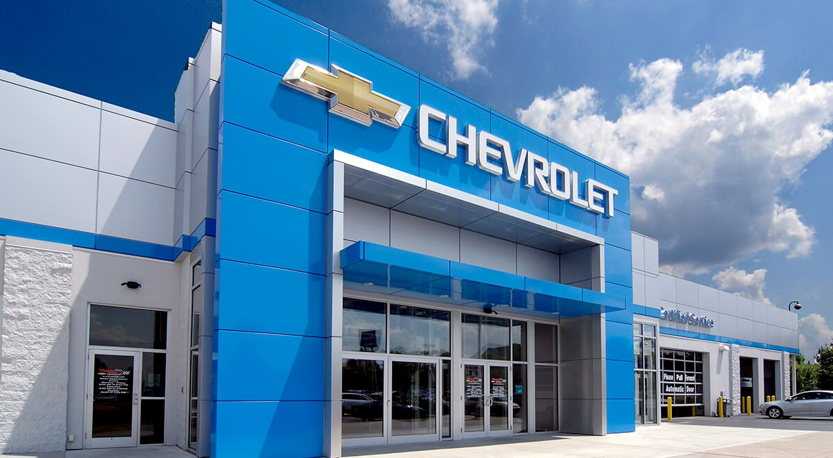 Tom Gill Chevrolet auto dealership construction finished picture 1