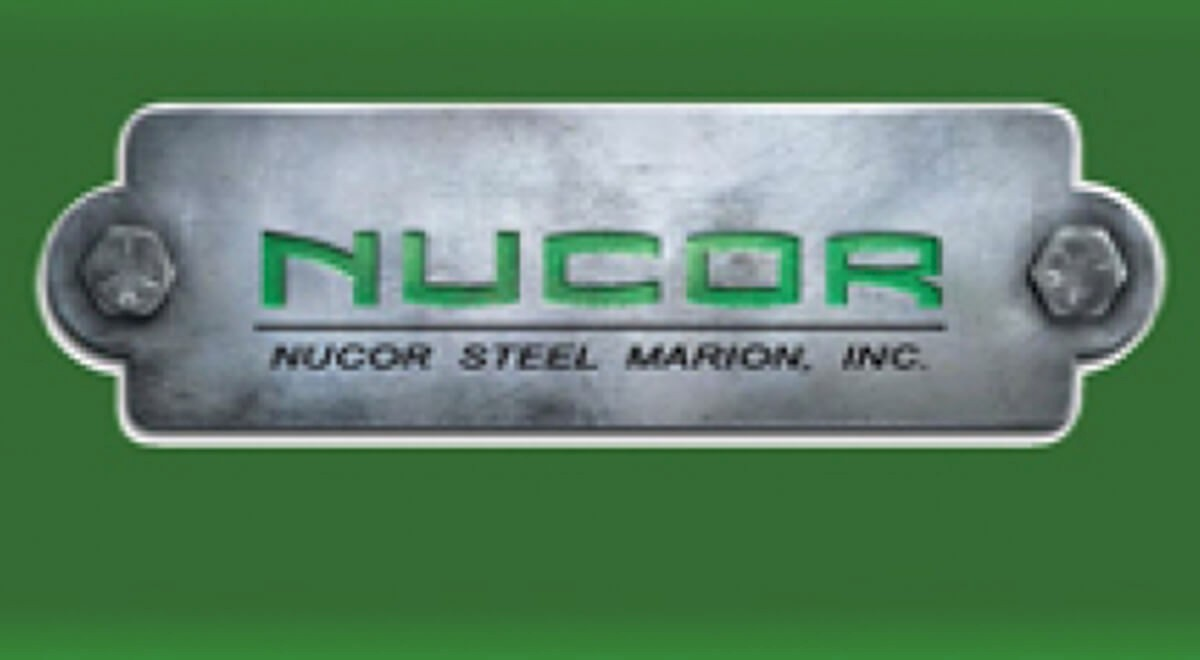 Nucor Steel industrial construction finished picture